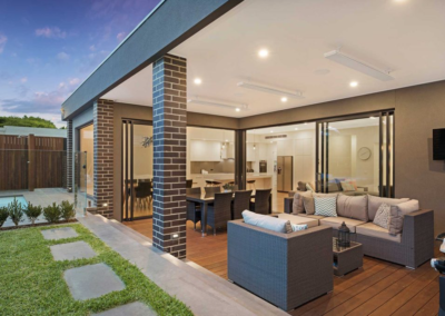 Current Group electricians complete electrical works of outdoor living area at Melbourne home