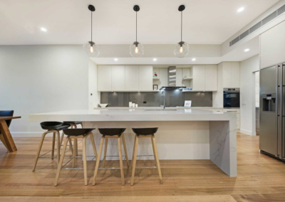 Current Group electricians complete electrical works of kitchen at Melbourne home