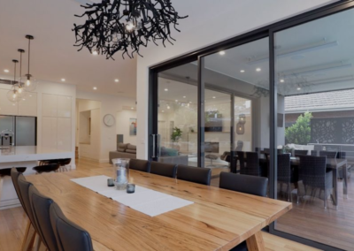 Current Group electricians complete electrical works of dining area at Melbourne home